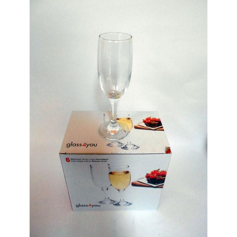 Čaše 1/6 za šampanjac